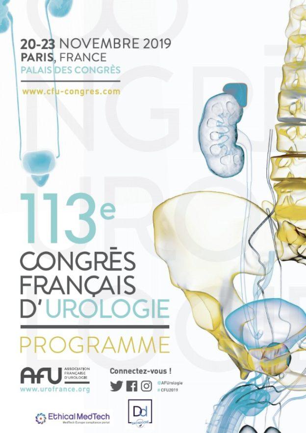 113e congrès français d'urologie